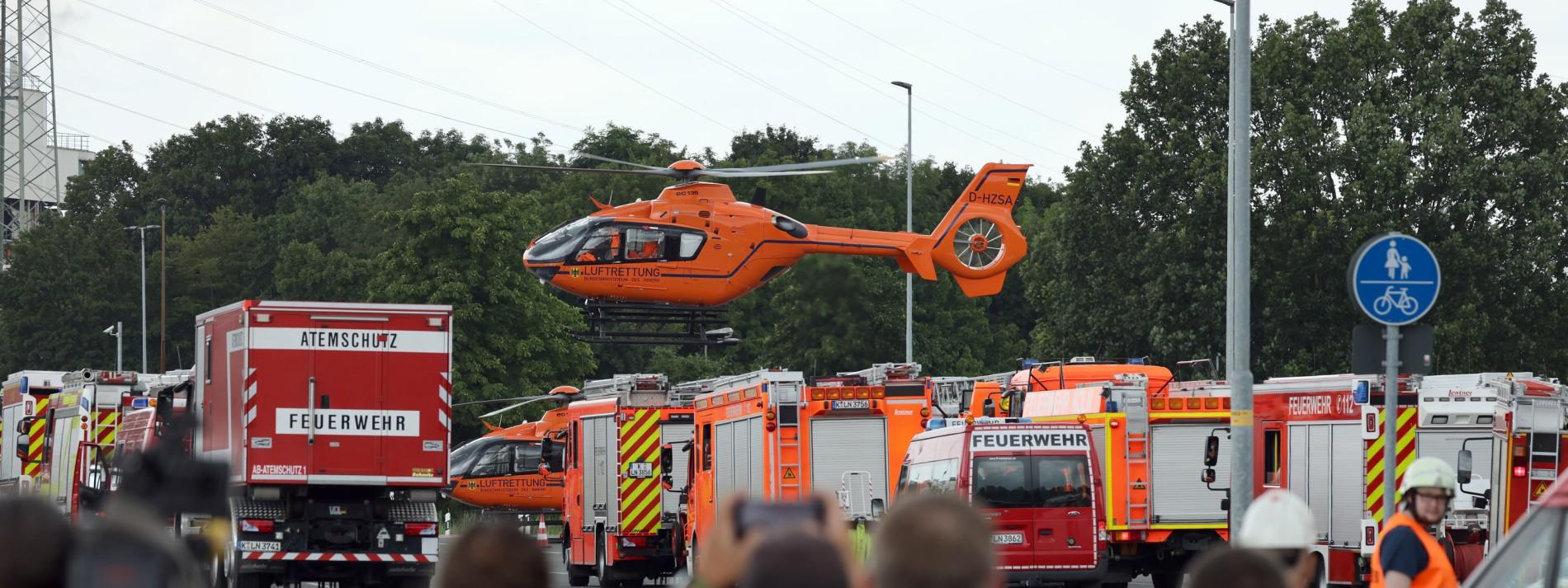 Ermittlungen wegen fahrlässiger Tötung nach Explosion in Leverkusen
