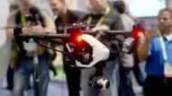Bereits im vergangen Jahr bekamen Messebesucher auf der CES Drohnen zu sehen.
