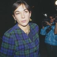 Aus dem Lot: Nach dem Tod ihres Vaters stand Ghislaine Maxwell vor 30 Jahren schon einmal im Blitzlichtgewitter.