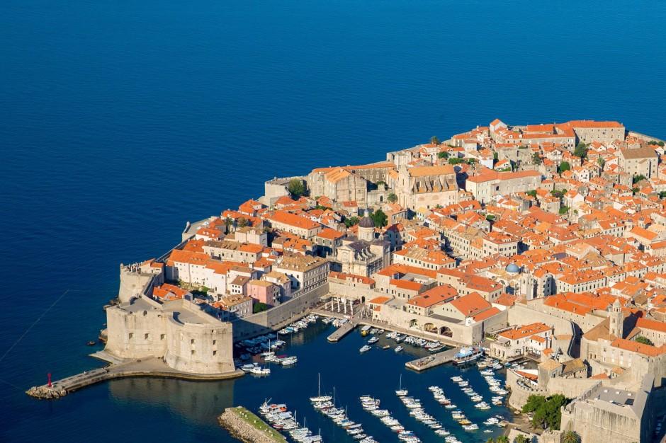 Sehr schön, aber auch sehr voll und eng. Deswegen flohen viele Bewohner von Dubrovnik zumindest zeitweise nach Lopud.