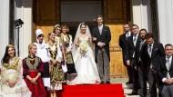 Erste royale Hochzeit seit dem Jahr 1938