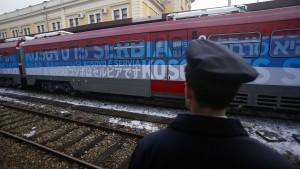 Serbien und Kosovo wegen eines Zuges auf Kollisionskurs