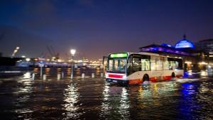 Behörde warnt vor heftiger Sturmflut