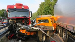 Massen-Unfall mit acht Verletzten in Großbaustelle