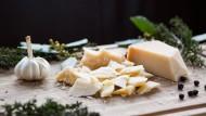 Nicht alles Käse: Parmesan mit Kräutern und Knoblauch