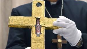 Das wertvolle Borghorster Kreuz ist wieder da