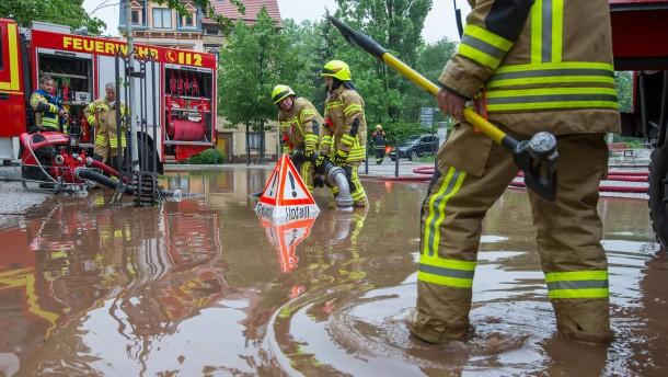 Was die Überschwemmungen verursacht hat