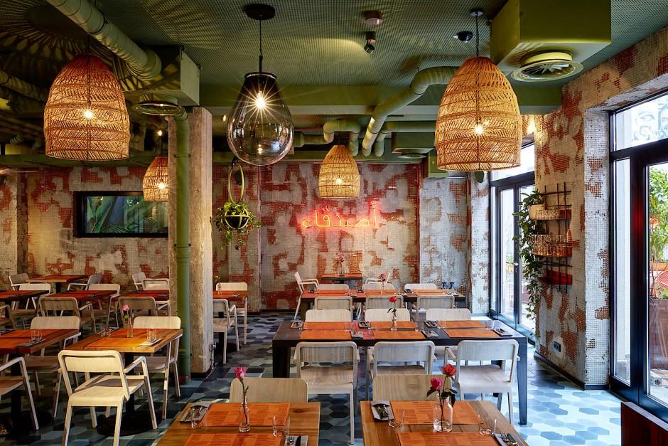 """Industrial trifft Orient: Das """"Bar Shuka"""" im Frankfurter Bahnhofsviertel"""