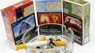 Solche Bilder müssen Raucher auch in Deutschland künftig ertragen.
