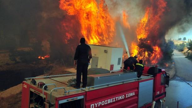 Feuer am Heiligen Berg Athos