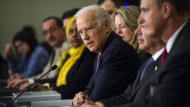 Amerikas Vicepräsident Joe Biden bei der Eröffnungsrede des Washingtoner Gipfels.