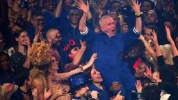 Stars verabschieden Jean Paul Gaultier vom Laufsteg