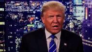 Trump: Es war falsch. Ich entschuldige mich.