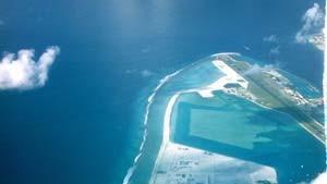 Urlaubsparadiese, die nur wenig über dem Meeresspiegel liegen