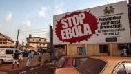 In Freetown in Sierra Leone kam es binnen weniger tage zu einem zweiten Ebola-Fall.