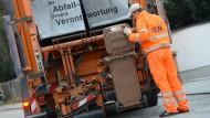 Die Deutschen produzieren viel Müll