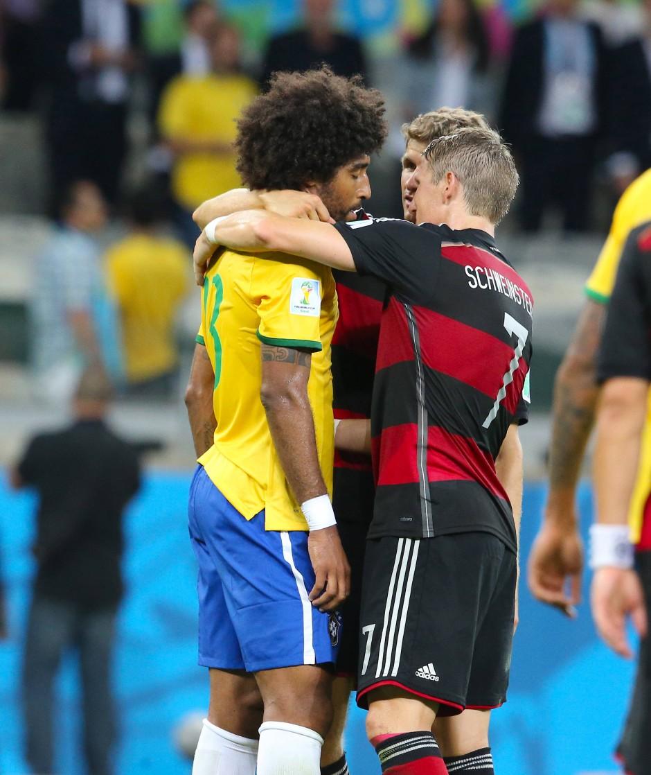WM 2014: Deutschland schlägt Brasilien 7:1.