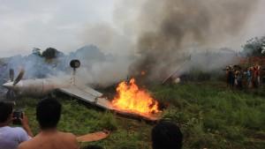 Acht Tote bei Flugzeugunglück