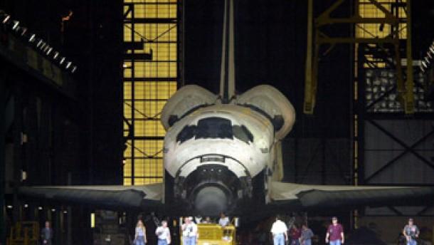 Nasa muß Bremsmechanik der Shuttles austauschen