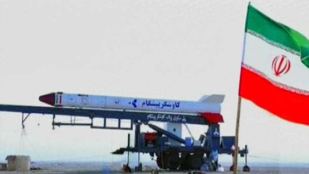 Raketenstart Iran