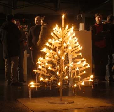 Tannenbaum Mit Kerzen.Bilderstrecke Zu Design Oh Tannenbaum Bild 21 Von 23 Faz