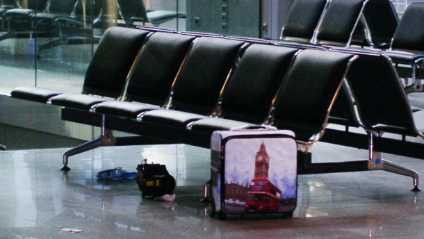 Verdächtiger Koffer war voller Back-Zutaten