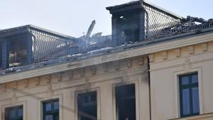Mordvorwurf nach Wohnhausbrand in Leipzig