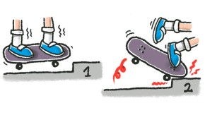 Illustration / Skatboard