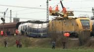Experten: Personenzug war auf falschem Gleisabschnitt