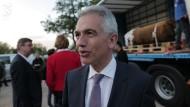 Frankfurts Oberbürgermeister ist erleichtert