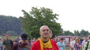 Blitzeinschlag bei Römerfest