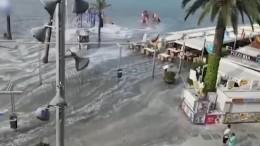 """""""Mini-Tsunami"""" trifft Mallorca"""