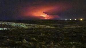 Vulkanausbruch nahe Islands Hauptstadt Reykjavik