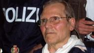 So sah der Mafiaboss aus, als er 2006 nach 40 Jahren Fahndung verhaftet wurde. Jetzt ist er verstorben.