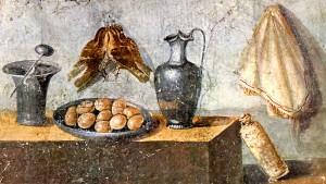 Auch die Römer haben gekleckert