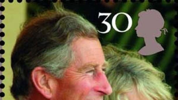 Britische Post präsentiert Sondermarken