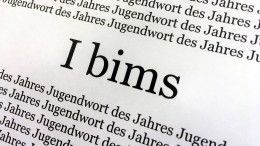"""I bims"" ist ""Jugendwort des Jahres"""