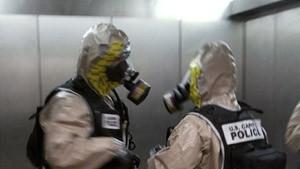 Giftiges Rizin in Senats-Gebäude gefunden