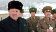 Enten aus Nordkorea