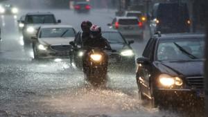 Starkregenfälle könnten künftig deutlich zunehmen