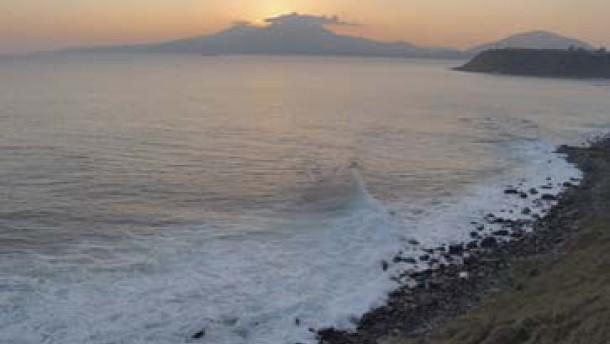 Schweres Erdbeben vor Japan - Entwarnung wegen Tsunami