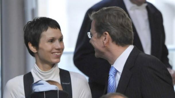 Mit Baby im Bundestag