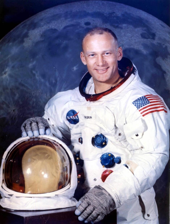 Zum Helden verdammt: Buzz Aldrin vor seinem Ausflug zum Mond