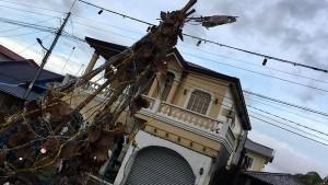 Auf den Philippinen verbringen Tausende Weihnachten in Notunterkünften