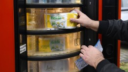 Klopapier-Automat für alle