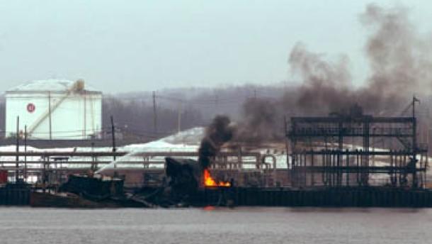 Explosion vor New York von defekter Pumpe ausgelöst