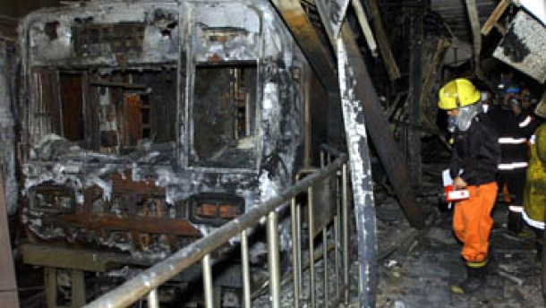 U-Bahn-Brandstifter bekommt lebenslänglich