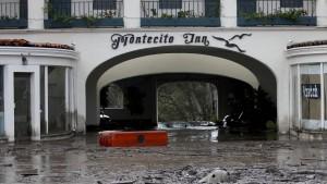 Kritik an Behörden nach Erdrutschen in Kalifornien