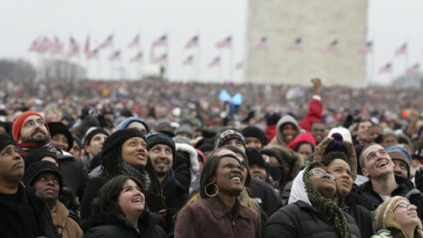 Hunderttausende feiern Obama in Washington