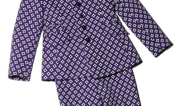 Jacke wie Hose -- In der aktuellen Herbstmode sind Jacken und Hosen besonders bunt gemustert. Oft sind sie in ein und demselben Muster gehalten.